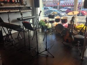 Coffeehouse Setup
